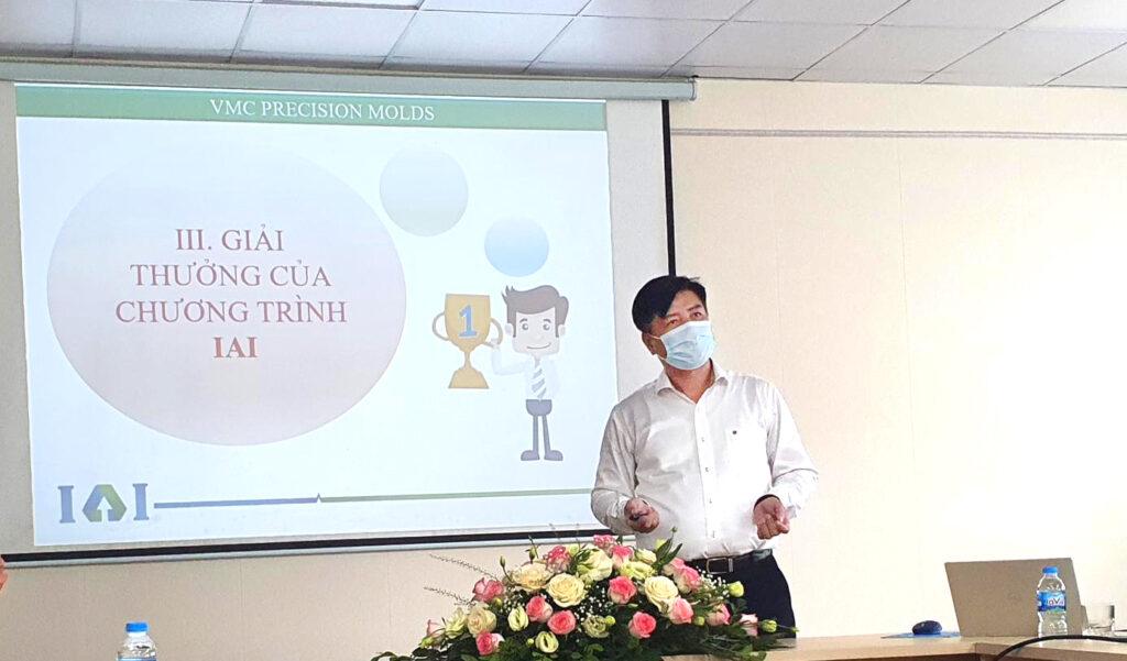 Ông Bùi Minh Hải – Chủ tịch HĐQT Công ty chia sẻ phương thức hoạt động ban IAI